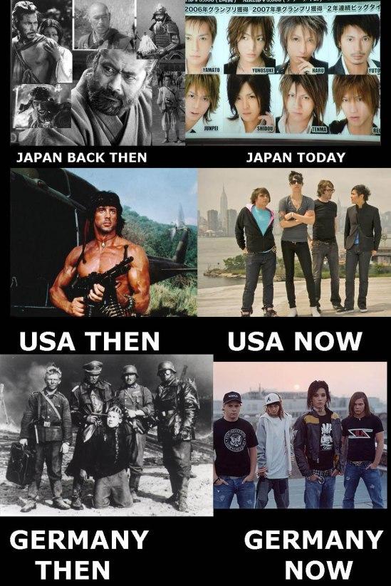 Le monde change...