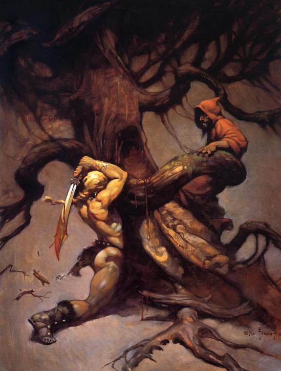 Frank Frazetta (Tree Of Death HD)