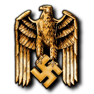 Eagle and Swastika - Reichadler und Hakenkreuz - National Socialist Posters - Third Reich - Deutschland