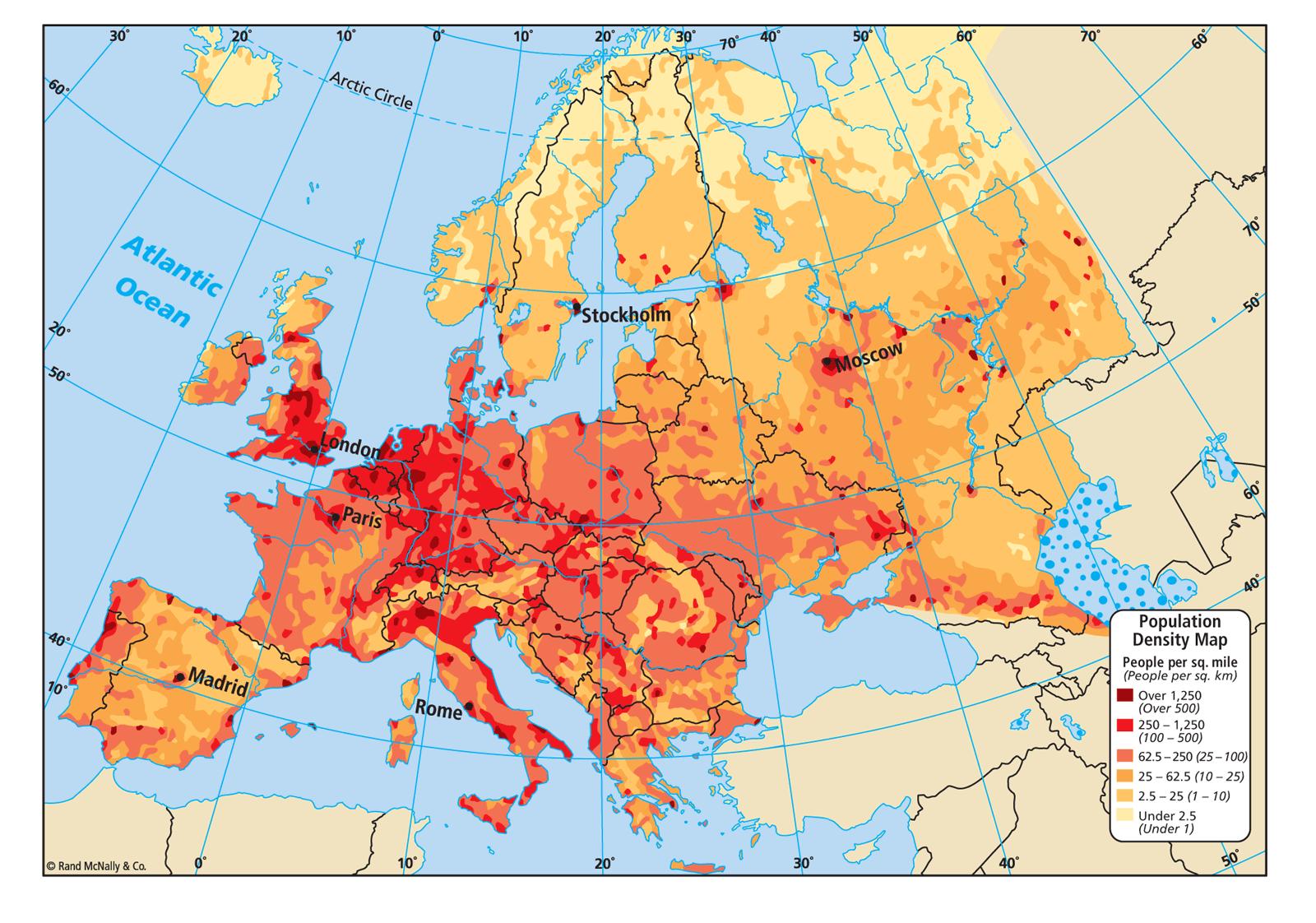 Cartes | Europe Résistance
